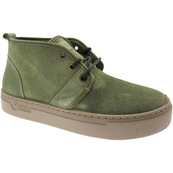 Schoenen Dames Hoge sneakers Natural World NAW6151922ka verde