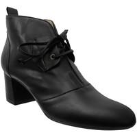 Schoenen Dames Enkellaarzen Brenda Zaro F2961 Zwart leer