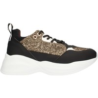 Schoenen Dames Lage sneakers Alexander Smith SP73896 Black gold and white