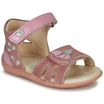 Schoenen Meisjes Sandalen / Open schoenen Kickers BICHETTA Roze