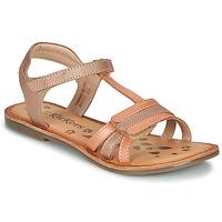 Schoenen Meisjes Sandalen / Open schoenen Kickers DIAMANTO Oranje