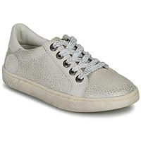 Schoenen Meisjes Lage sneakers Kickers LYKOOL Grijs / Zilver / Luipaard