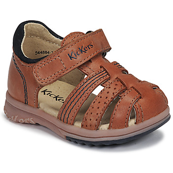 Schoenen Jongens Sandalen / Open schoenen Kickers PLATIBACK Camel