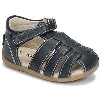 Schoenen Kinderen Sandalen / Open schoenen Kickers BIGFLO-3 Marine