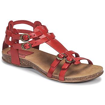 Schoenen Dames Sandalen / Open schoenen Kickers ANA Rood