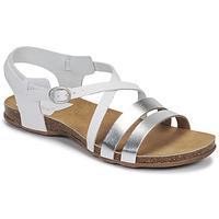 Schoenen Dames Sandalen / Open schoenen Kickers ANATOMIUM Wit / Zilver