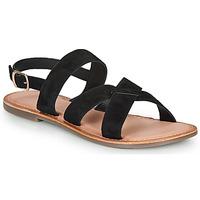 Schoenen Dames Sandalen / Open schoenen Kickers DIBA-3 Zwart
