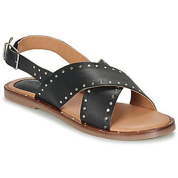 Schoenen Dames Sandalen / Open schoenen Kickers KICLA Zwart