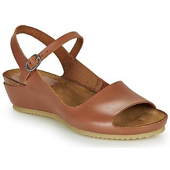 Schoenen Dames Sandalen / Open schoenen Kickers TAKIKA Bruin