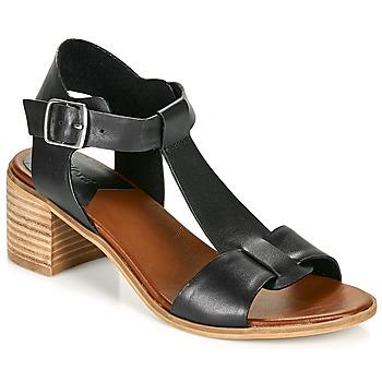 Schoenen Dames Sandalen / Open schoenen Kickers VALMONS Zwart