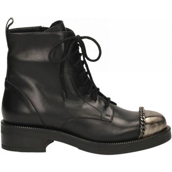 Schoenen Dames Laarzen Albano VITELLO nero