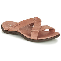 Schoenen Dames Leren slippers Merrell DISTRICT KANOYA SLIDE Camel