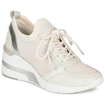 Schoenen Dames Lage sneakers Mustang 1303303-203 Wit