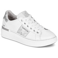 Schoenen Dames Lage sneakers Mustang  Wit / Zilver