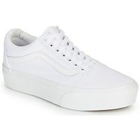 Schoenen Dames Lage sneakers Vans Old Skool Platform Wit