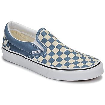 Schoenen Instappers Vans CLASSIC SLIP-ON Blauw / Wit