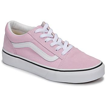 Schoenen Meisjes Lage sneakers Vans OLD SKOOL Roze