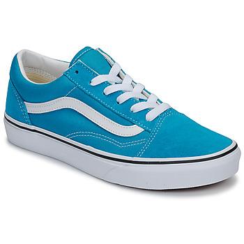 Schoenen Kinderen Lage sneakers Vans JN Old Skool Blauw