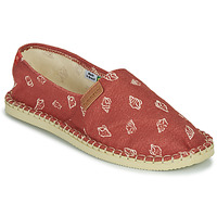 Schoenen Espadrilles Havaianas ORIGINE BEACH Rood