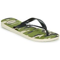 Schoenen Heren Teenslippers Havaianas TOP CAMU Groen