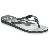Schoenen Heren Teenslippers Havaianas TOP PHOTOPRINT Zwart / Wit