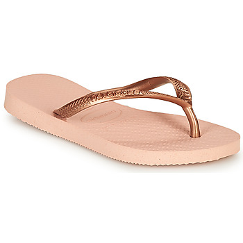 Schoenen Meisjes Teenslippers Havaianas SLIM Roze