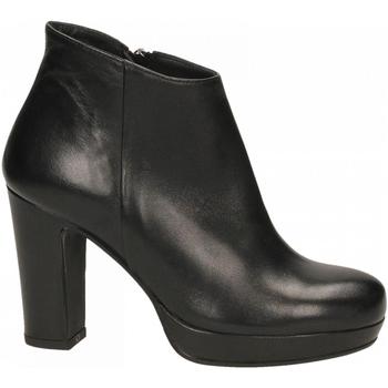 Schoenen Dames Enkellaarzen Les Venues NAPPA nero