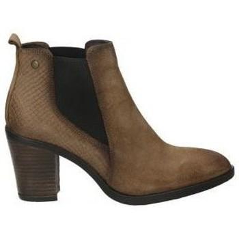 Schoenen Dames Enkellaarzen Hangar Shoes 8062 Marron
