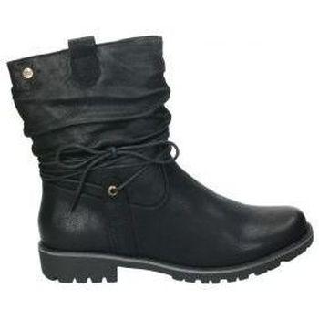 Schoenen Dames Enkellaarzen Xti 56923 Noir