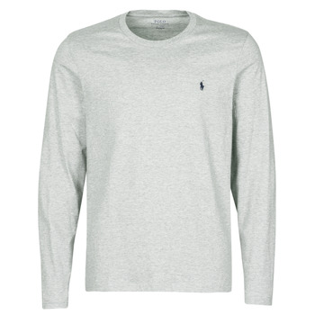Textiel Heren T-shirts korte mouwen Polo Ralph Lauren L/S CREW-CREW-SLEEP TOP Grijs