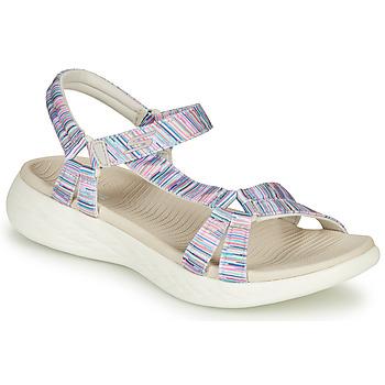 Schoenen Dames Sandalen / Open schoenen Skechers ON-THE-GO Multicolour