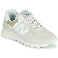 Schoenen Lage sneakers New Balance 574 Beige