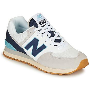 Schoenen Lage sneakers New Balance 574 Grijs / Marine