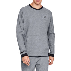 Textiel Heren Sweaters / Sweatshirts Under Armour Unstoppable 2X Knit Crew 1329712-035 Gris