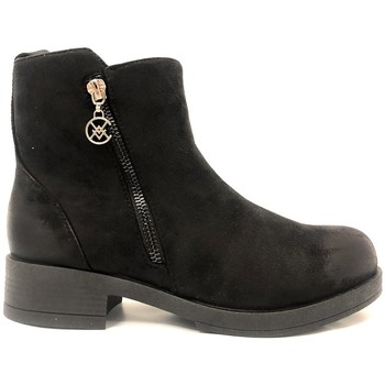 Schoenen Dames Laarzen Chattawak Botine 8-Vamp Noir Zwart
