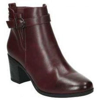 Schoenen Dames Enkellaarzen Deity YSY16588-ME Rouge