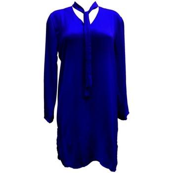 Textiel Dames Tunieken By La Vitrine Tunique l'olive verte Marine CH3 Blauw