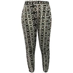Textiel Dames Losse broeken / Harembroeken Dress Code Pantalon CT-5672C Vert Groen