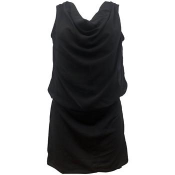 Textiel Dames Jurken By La Vitrine Robe Noir Coco Giulia 0Y-019 Zwart