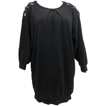 Textiel Dames Tops / Blousjes Rich & Royal Sweet mi manche Noir 13Q223 Zwart