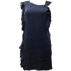 Textiel Dames Jurken Rich & Royal Robe Bleu 13Q686 Blauw