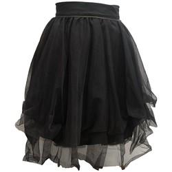 Textiel Dames Rokken Rich & Royal Jupe Noir 13Q691 Zwart