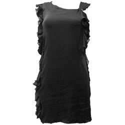 Textiel Dames Jurken Rich & Royal Robe Noir 13Q686 Zwart