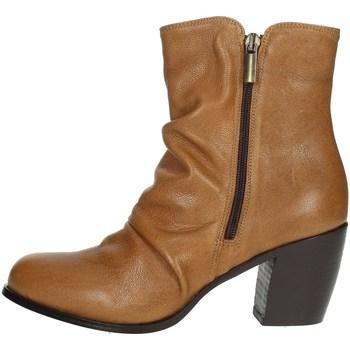Schoenen Dames Laarzen Elena Del Chio 5803 Brown leather