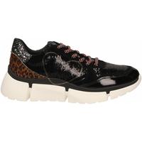 Schoenen Dames Lage sneakers Nira Rubens STINGER RUNNING CUORE GLAM DARK nero-leopard