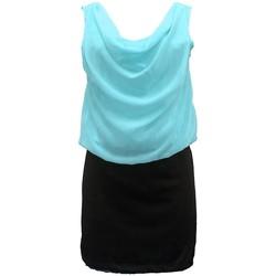 Textiel Dames Jurken By La Vitrine Robe Noir Vert Coco Giulia 0Y-019 Zwart