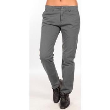 Textiel Dames Chino's Charlie Joe Pantalon  Gris  Waine Long Pant Grijs