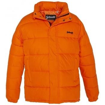 Textiel Dames Dons gevoerde jassen Schott Doudoune    NEBRASKA W  Orange Oranje