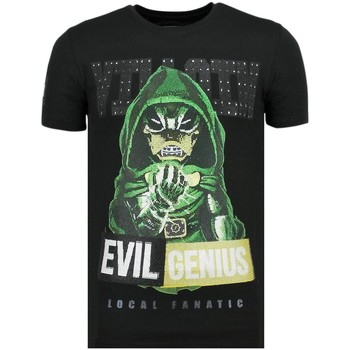 Textiel Heren T-shirts korte mouwen Local Fanatic Villain Duck - Vette T-Shirt - 6325Z - Zwart