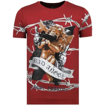 Textiel Heren T-shirts korte mouwen Local Fanatic Bad Angel B Bordeaux